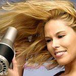 مضرات رنگ مو و سشوار در روزهای گرم