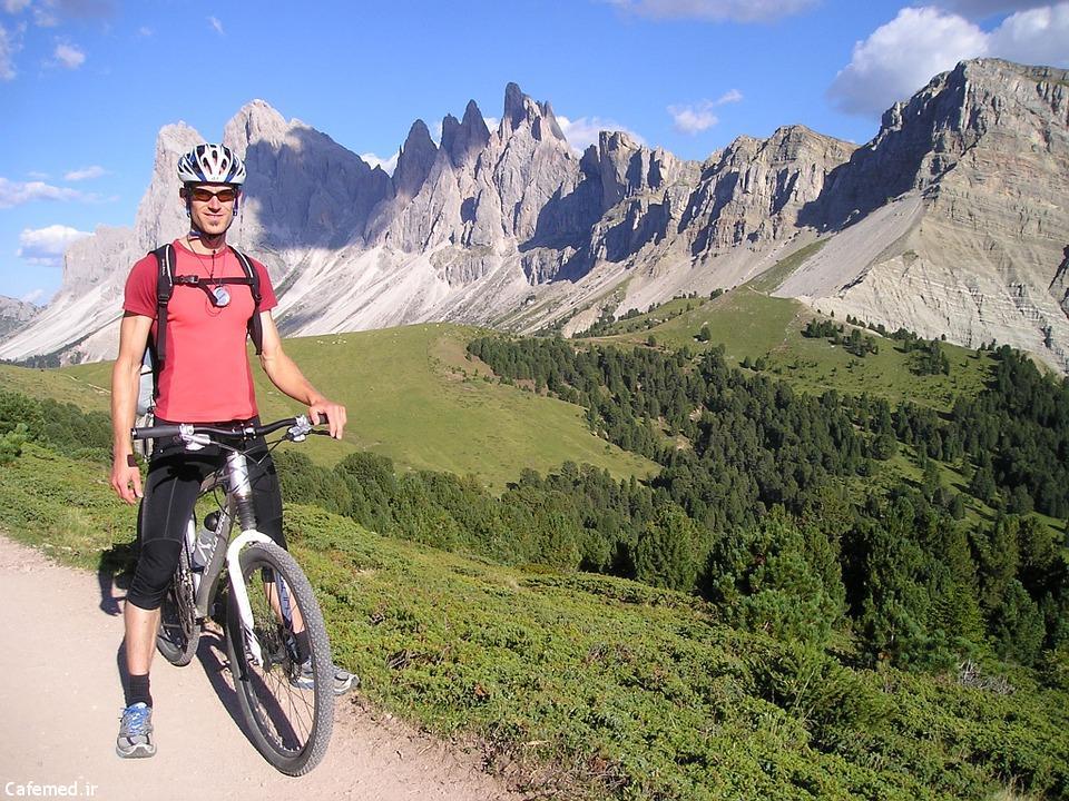 فواید دوچرخهسواری برای سلامتی